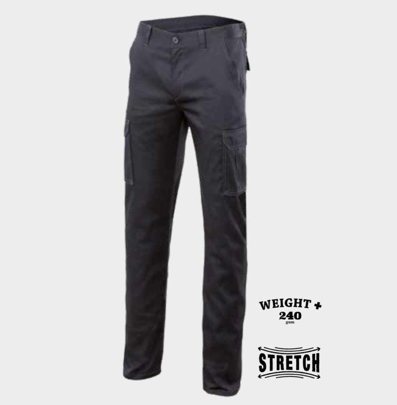 Pantalón stretch multibolsillo